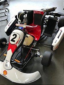 KartMini 2012 Modelo M2 com Motor 125cc - Araça e Kit de Refrigeração - * 10 x sem juros