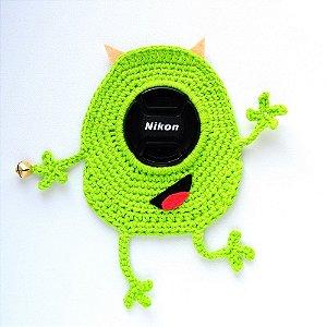 Lens Props Mike Wazowski em Croche - Monstros S A