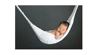 Rede de Crochê para newborn - Cores Variadas