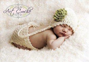 Conjunto Newborn Menina Dama