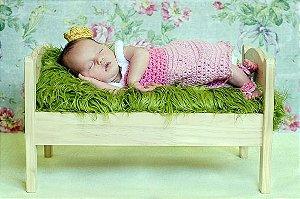 Conjunto Bela Adormecida - Newborn Princesas Disney