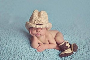 Conjunto newborn Pequeno Cowboy - Peão de Rodeio