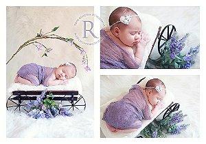 Wrap Newborn 100% Algodão - Cores