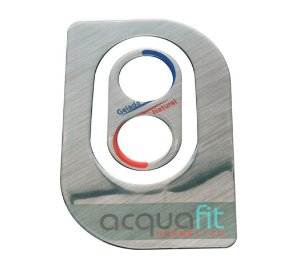 Adesivo Frontal Purificador Acquafit Eletrônico Libell