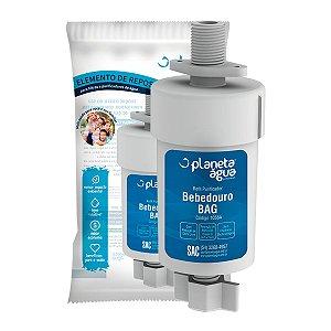 Refil Filtro Planeta Água B.a.g 1058A Compatível Bebedouro IBBL BAG 40 e 80