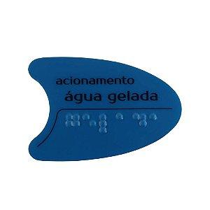 Adesivo Azul Tecla Lateral Bdf/Pdf/Smart H2o IBBL