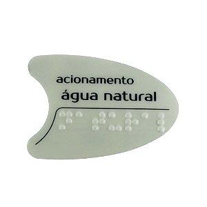Adesivo Cinza Tecla Frontal Bdf/Pdf/Smart H2o IBBL