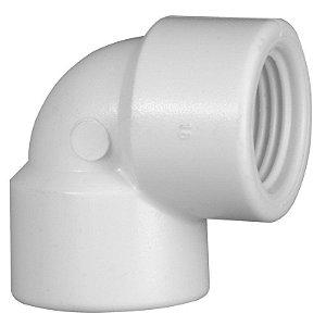 """Joelho Roscável 90° PVC 1/2"""" X 1/2"""""""