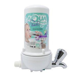 Filtro com Torneira AquaFresh Pratic 200 Branco Policarbon