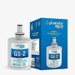 Refil Gs-2 Compatível Refrigerador Samsung Side By Side Planeta Água