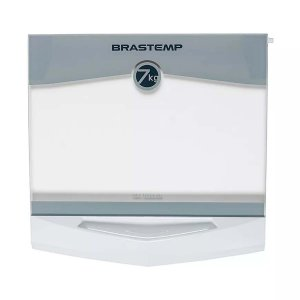 Tampa Móvel de Vidro Temperado lavadora Brastemp Original - 326048209