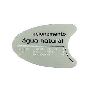 Adesivo Cinza Tecla Lateral Bdf/Pdf/Smart H2o IBBL