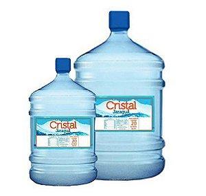 Água Mineral Cristal Jaraguaá Garrafão de 10 e 20 Litros