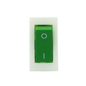 Botão Interruptor Tecla Verde Motor da Pá Refresqueira IBBL BBS 1 e 2