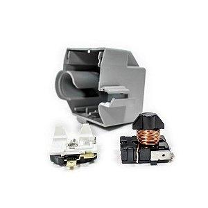 Conjunto Rele Protetor térmico Embraco Em 55hhr 110v 60hz Ibbl