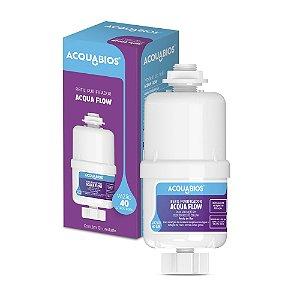 Refil Filtro Acqua Flow Para Bebedouro de pressão 1/2x1/4 Acquabios