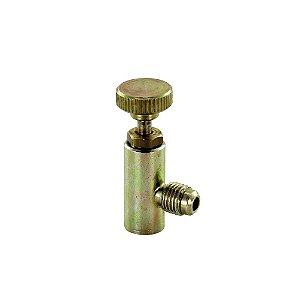 Válvula Acionadora P/ Garrafa Gás R22 / R134a / R401a / R600 Com Manopla