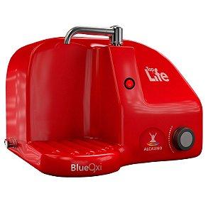 Purificador de Água Alcalina Com Ozônio Blueoxi Vermelho 127v Top Life
