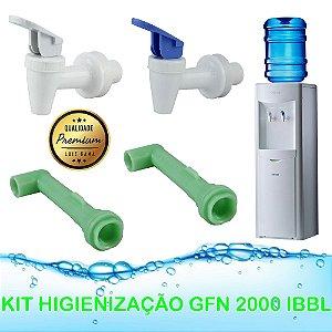 Kit Higienização Bebedouro Gfn 2000 E Compact Branco Ibbl