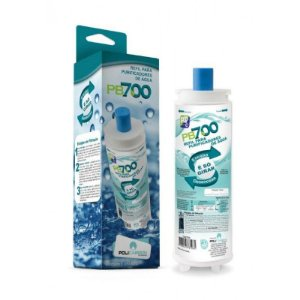 Refil Filtro PB700 Para Purificador de Água  Compatível Masterfrio Rótulo Azul 22,5 mm