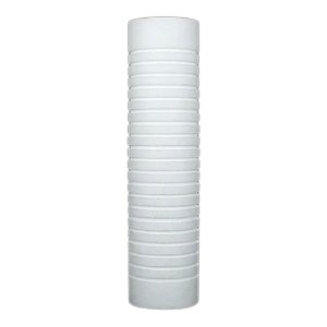 "Filtro Refil Cartucho de Polipropileno 5 Micron Ranhurado 10""  Hydronix SGC-25-1005"