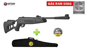 Carabina de Pressão Hatsan Striker Edge Cal 5,5 mm - Gas Ram 55kg - Rossi