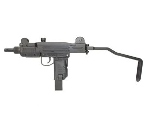 Rifle de Pressão Sub-Metralhadora Mini Uzi Full Metal BlowBack CO2  4.5mm KWC