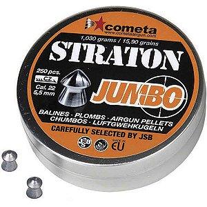 Chumbinho JSB Cometa Straton Jumbo 5.5mm - 250un