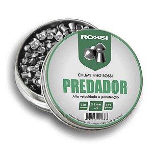 Chumbinho Rossi Predador 5.5mm - 250un