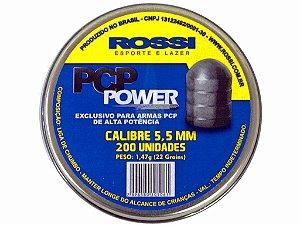 Chumbinho Rossi PCP Power Alta Potência 5.5mm - 200un