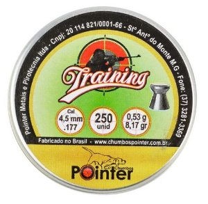 Chumbinho Pointer Training 4.5mm - 250un