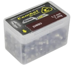 Chumbinho Pocket Jumbo 5.5mm 150un - Combat
