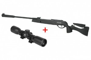 Carabina Pressão GAMO Socom 1000 Tactical - Cal. 5.5 mm + Luneta LC 4X32 WR