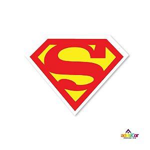 Adesivo Vinil Logo Superman -11,5x9cm