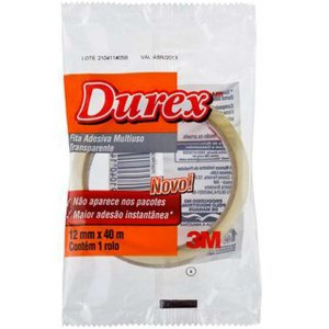 Fita adesiva Durex Transparente 12mmx40m