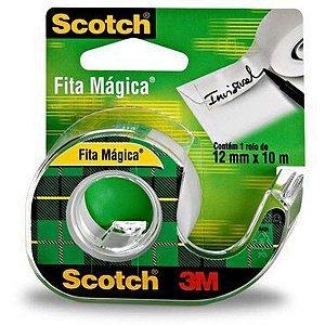 Fita magica Scotch 810 12mmx10m c/ Aparelho