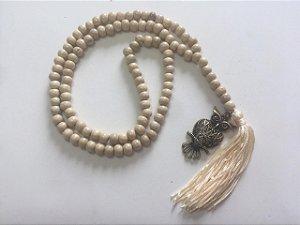 Japamala de 108 contas coruja