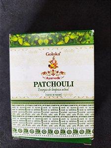 Incenso Cone Cascata Patchouli