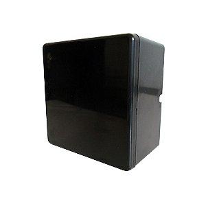 Caixa Organizadora Preta para CFTV sem Fonte