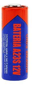 Cartela com 5 unidades Bateria A23S 12V
