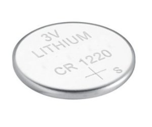 Cartela com 5 unidades Bateria CR1220 3V Lithium