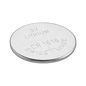 Cartela com 5 Unidades Bateria CR1616 3V Lithium