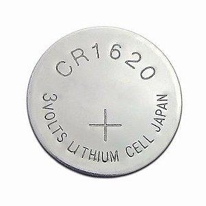 Cartela com 5 unidades Bateria CR1620 3V Lithium