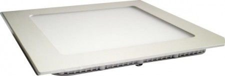 Plafon 12W De Led Para Embutir Branco Frio Quadrado Bivolt
