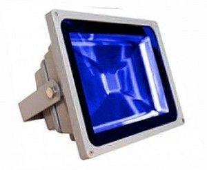 Refletor De Led Azul 30W