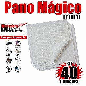 Kit 40 Unidades Panos Mágicos Mini 9,8X9,8 cm