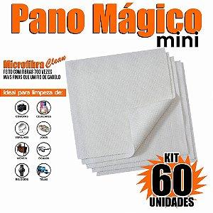 Kit 60 Unidades Panos Mágicos Mini 9,8X9,8 cm