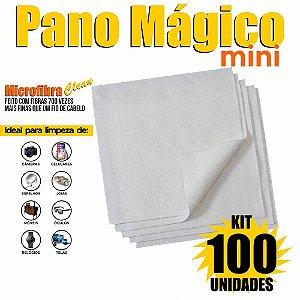 Kit 100 Unidades Panos Mágicos Mini 9,8X9,8 cm