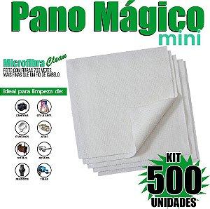 Kit 500 Unidades Panos Mágicos Mini 9,8 x 9,8 cm