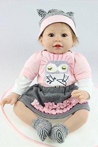 Boneca Bebe Reborn 020 b8e0283916e